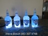 Rugby Bottle Lamps
